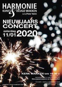 Nieuwjaarsconcert @ Kerk / Hondiuspark | Dentergem | Vlaanderen | België
