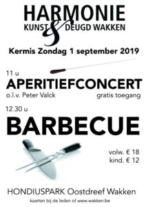 Aperitiefconcert en barbecue @ Hondiuspark | Dentergem | Vlaanderen | België